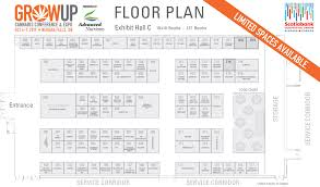 floor plan grow up conference and expo