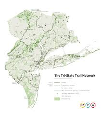 Ny State Map With Cities by Regional Plan Association Proposes 1 650 Mile Tri State Trail