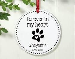 personalized pet memorial ornament pet memorial gift