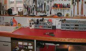 Woodworking Bench Top Surface by What Are You Using For A Workbench Top The Garage Journal Board