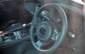new jeep truck interior jaguar f pace interior spyshots a peek inside new jag suv by car
