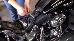 how to remove and replace a motorcycle battery youtube