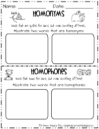 33 best homophones images on pinterest teaching ideas word