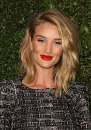 rosie huntington side parted lob 7 non boring spring hair ideas to try layered lob lob haircut