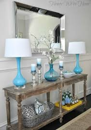 console table decor ideas 20 entry table ideas that make a stylish first impression rustic