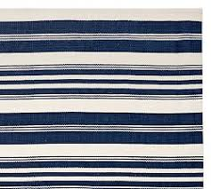 Navy And White Outdoor Rug Indoor Outdoor Rugs Pottery Barn