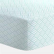 aqua mini parquet crib sheet carousel designs baby registry