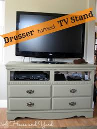 room in a house a house and yard old dresser chalk paint u003d tv stand