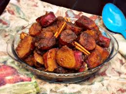 thanksgiving candied yam recipe camotes enmielados mexican candied sweet potatoes sundaysupper