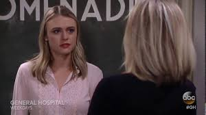carlys haircut on general hospital show picture carly comforts kiki general hospital clip youtube