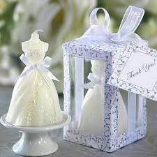 candle favors wedding gown candle favors ewfw011 as low as 1 35