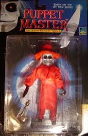 amazon com puppet master blade in red action figure