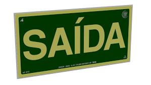 Extreme SAC | TAG Sinalização - Placas Fotoluminescentes com Certificação ABNT &YS41