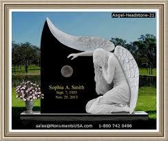 headstone designs angel headstone 21 angel cemetary headstone headstone design