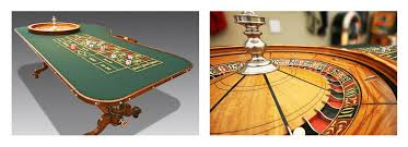 find about the vintage roulette table with a big secret