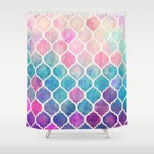 quatrefoil shower curtains society6