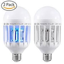 insect killer light bulb amazon com 2 pack mosquito killer l bug zapper light bulb