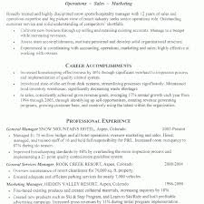 Hotel Resume Samples by Ingenious Idea Hospitality Resume 6 Hospitality Resume Example