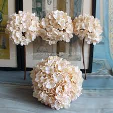 hydrangea wedding centerpieces single large hydrangea vase set home wedding decoration table