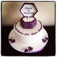 engagement cakes ring box engagement