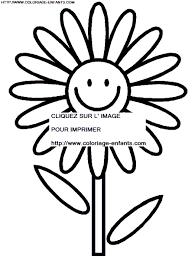 coloriage fleur 3eme dessin enfant gratuit à colorier fleur 3eme