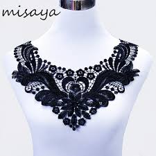 ribbon lace aliexpress buy misaya 1pc milk silk embroidered lace trim