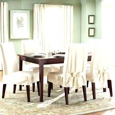 Cover Dining Room Chairs Dining Room Chair Slipcovers Sumr Info