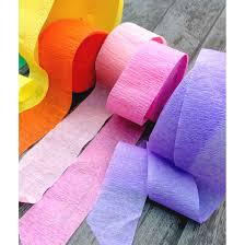 streamers paper 24m crepe paper streamers think party studios