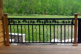 custom railing balusters stair railing deck railing