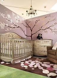 arbre déco chambre bébé chambre enfant tapis chambre bébé marron motifs blanc sticker
