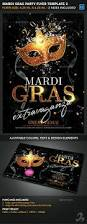 mardi gras party flyer template 2 by creativb graphicriver