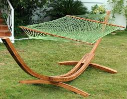 4 post hammock lovely wooden hammock with stand 4 post hammock