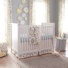 Gray And Yellow Crib Bedding Grey And Yellow Crib Bedding Vnproweb Decoration