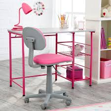Pink Chairs For Bedrooms by Study Zone Ii Desk U0026amp Chair Pink Walmart Com
