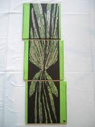Tableau Triptyque Contemporain by Tableau Deco Vert Anis U2013 Chaios Com
