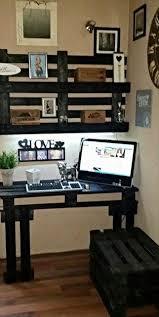 Diy Pallet Desk Amazing Wood Pallet Reception Desk Pic Diy Pallet Desk Tutorial
