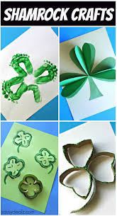 list of shamrock crafts to make for st patrick u0027s day craft
