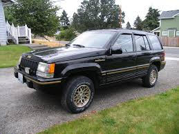 modified jeep cherokee flyprp 1993 jeep grand cherokeelimited sport utility 4d specs