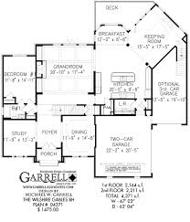 English Style House Plans by Wilshire Gables Bh House Plan House Plans By Garrell Associates