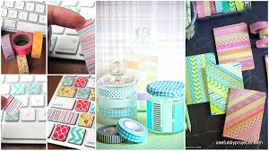 16 washi tape ideas for a vibrant colorful home useful diy projects