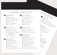 wedding checklist book wedding planning timeline