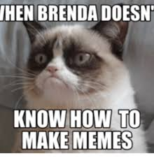Brenda Memes - hen brenda doesnt know how to make memes hen meme on me me