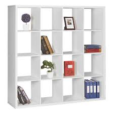 furniture home white bookshelves 4 modern elegant new 2017