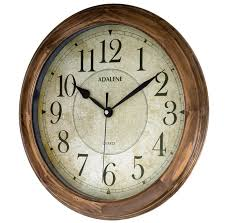 Wood Clock by Amazon Com Adalene 14 Inch Large Wall Clock Decorative Living