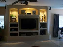 Home Center Decor by Built In Wall Entertainment Center Designs Add The Natural Style
