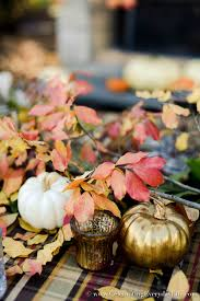 outdoor thanksgiving table celebrating everyday with