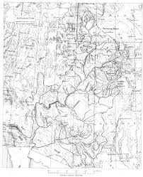 Topographical Map Of Colorado by Usgs Geological Survey Professional Paper 669 C