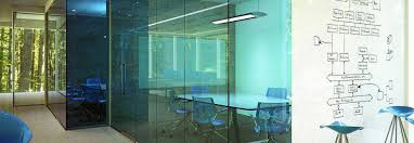 transparency at work glass around the office office furniture now
