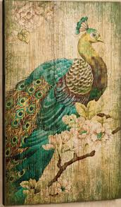 Garden Wall Decoration by Home Decor For A Minimalist Living Room Using Peacock Metal Wall