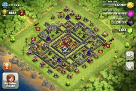 Home Design Game Levels Clash Of Clans Base Designs Town Hall Level 10 1337 Wiki